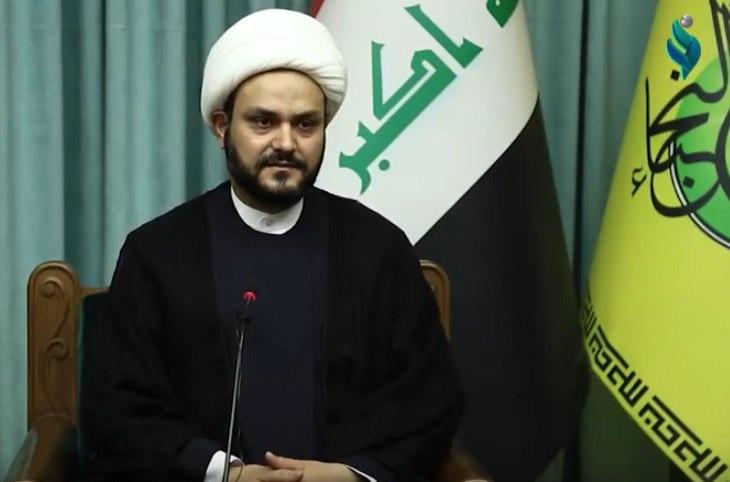 The secretary general of al-Nujaba