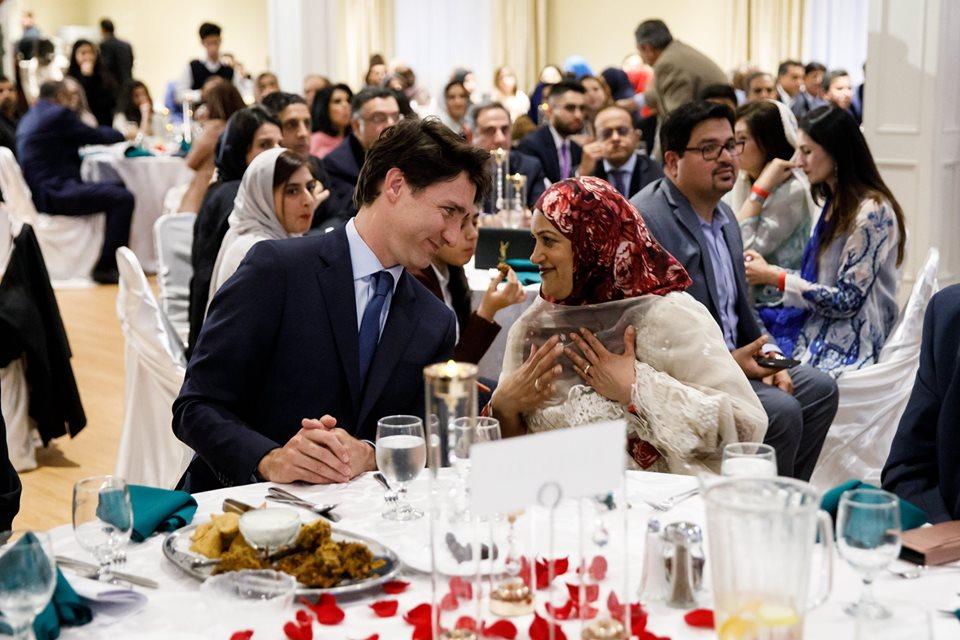 Justin Trudeau shares Ramadan Iftar with Muslims