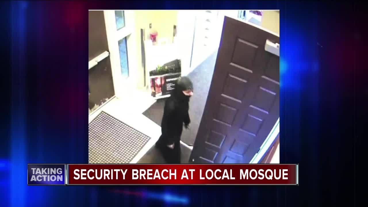 Police investigate security breach at a Michigan mosque