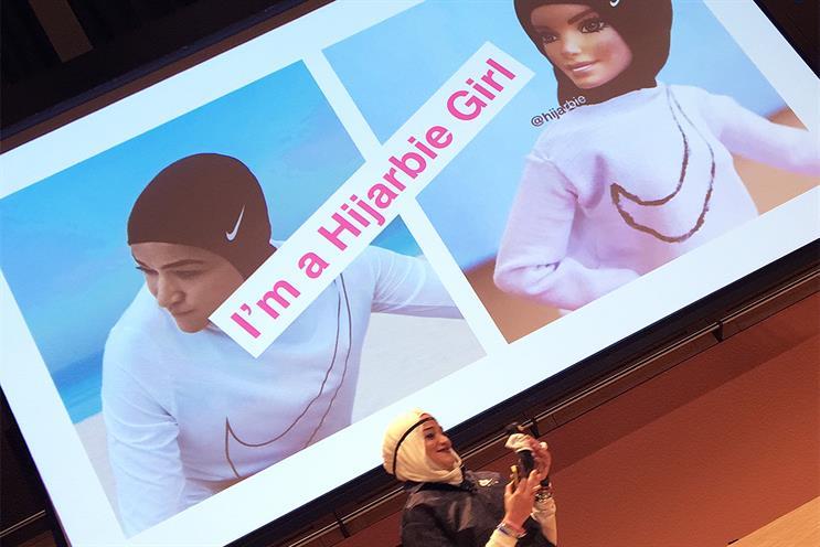 Hijabi model calls on brands to better represent Muslim women