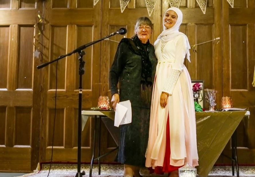 Hijab dress an artistic tribute to New Zealand's Muslim community