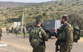 Israeli troops open fire on Palestinian security center, injure officer