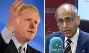 Conservative Muslim leader compares Boris Johnson to Adolf Hitler