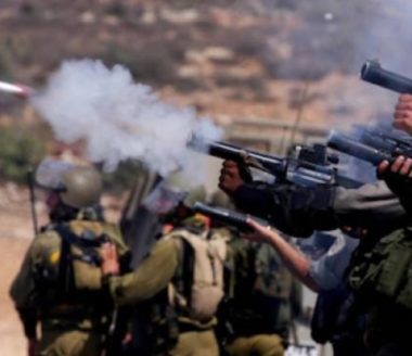 Army Injures Many Palestinians In Southern Gaza