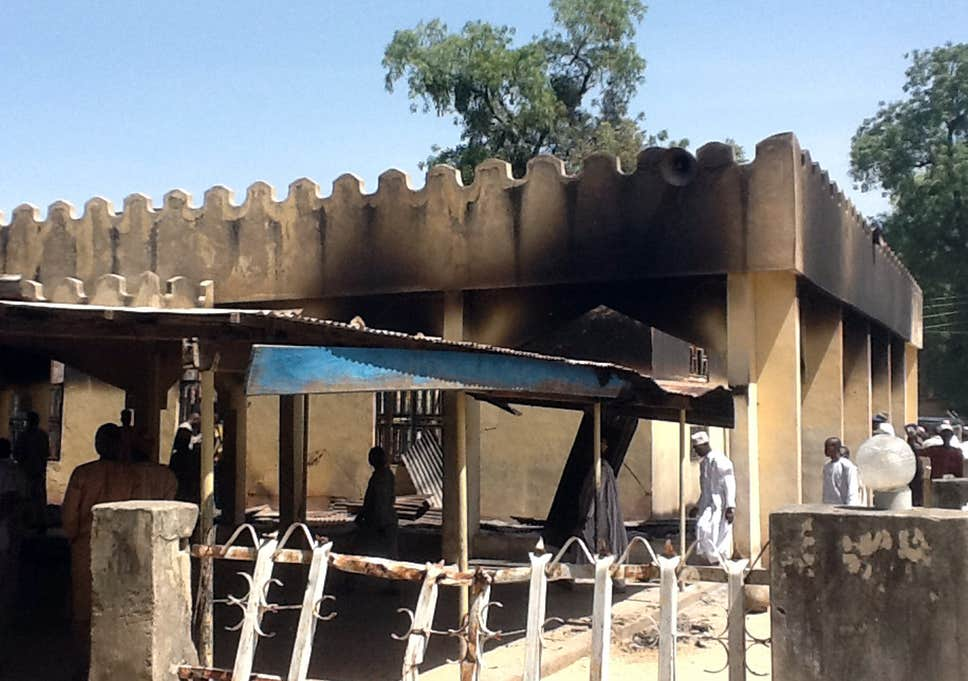 Nigeria attack: At least ۳۰ killed in triple suicide bombing