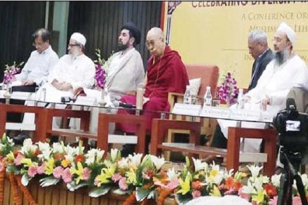Dalai Lama attends Shia, Sunni conference in New Delhi