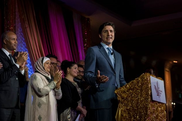 Justin Trudeau urges Canadian Muslims to make themselves 'Important' to the Conservative Party