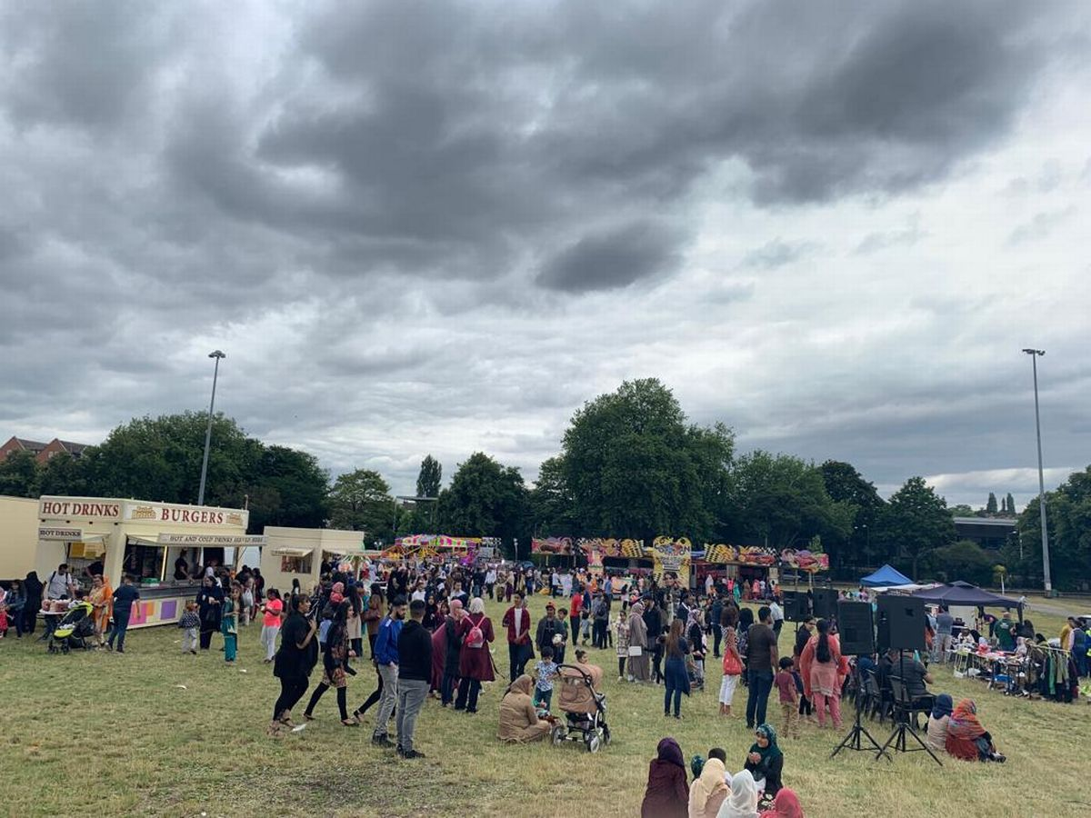 Thousands of people attend Muslim cultural festival at the forest rec
