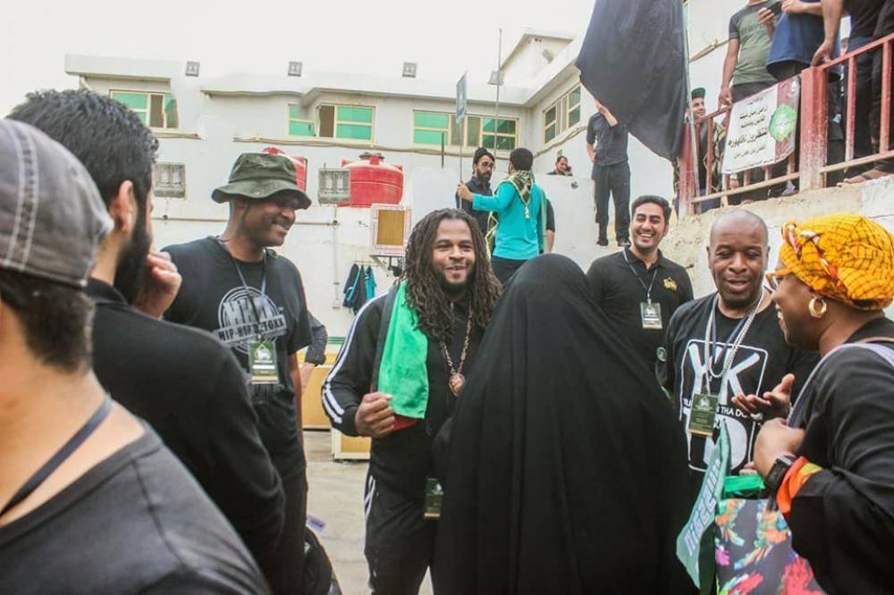 موکبی با ۲۵ تابعیت در پیاده روی اربعین حسینی