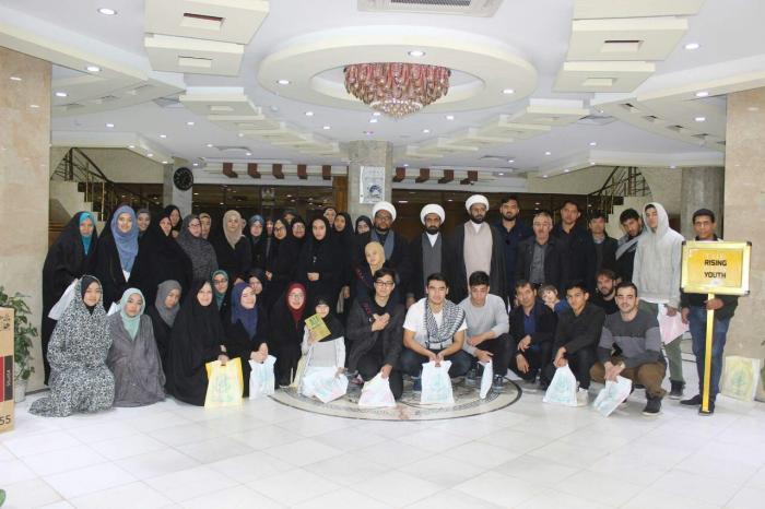 حضور مستبصران استرالیا و اندونزی در حرم امام علی(ع)