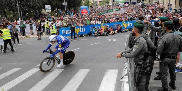 مسابقه دوچرخه سواری در سرزمین های اشغالی