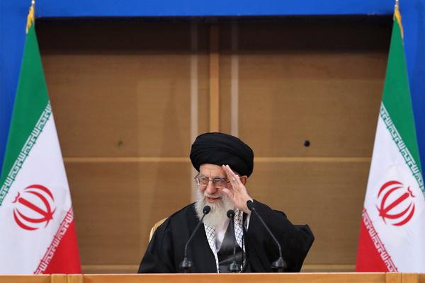 رهبر معظم انقلاب در کنفرانس فلسطین