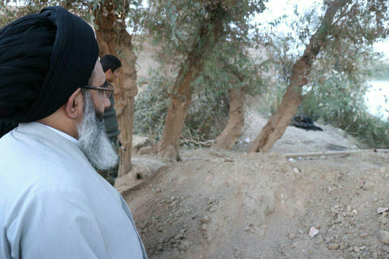 بازدید نماینده مقام معظم رهبری از مناطق آزاد شده سوریه