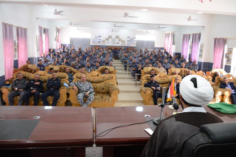 حضور فضلای حوزه علمیه نجف در آکادمی ارتش