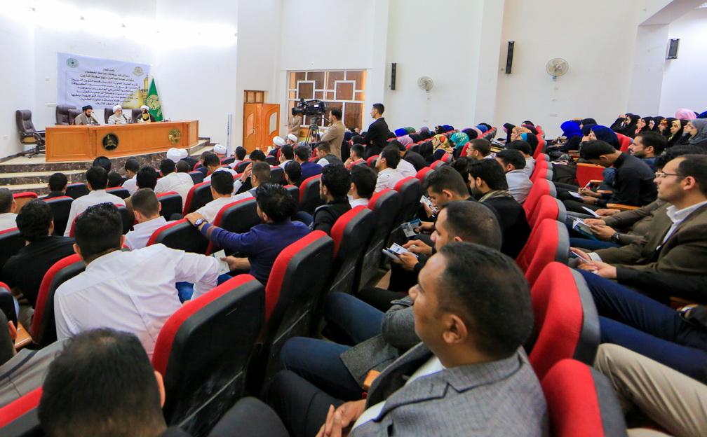سمینار علمی با حضور اساتید و فضلای حوزه علمیه نجف در دانشگاه های عراق