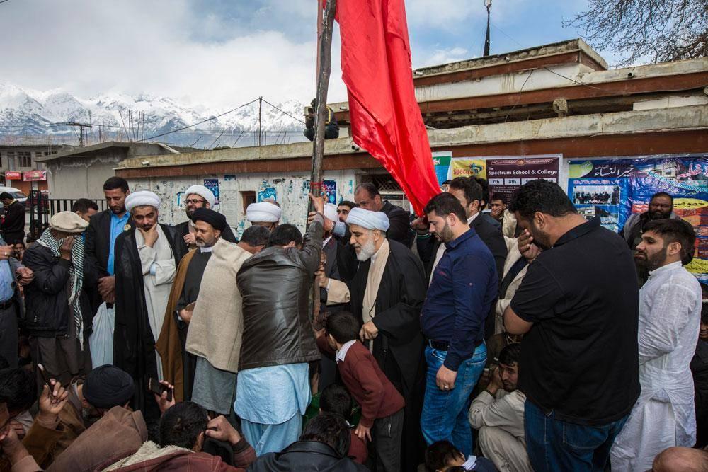 گروه های اعزامی از سوی عتبات مقدس رهسپار رشته کوه های هیمالیا در دورترین نقاط شمالی پاکستان
