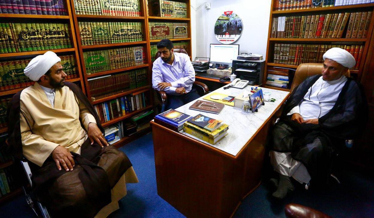 دیدار مسئولان پژوهشگاه های آستان های مقدس علوی و حسینی و عباسی