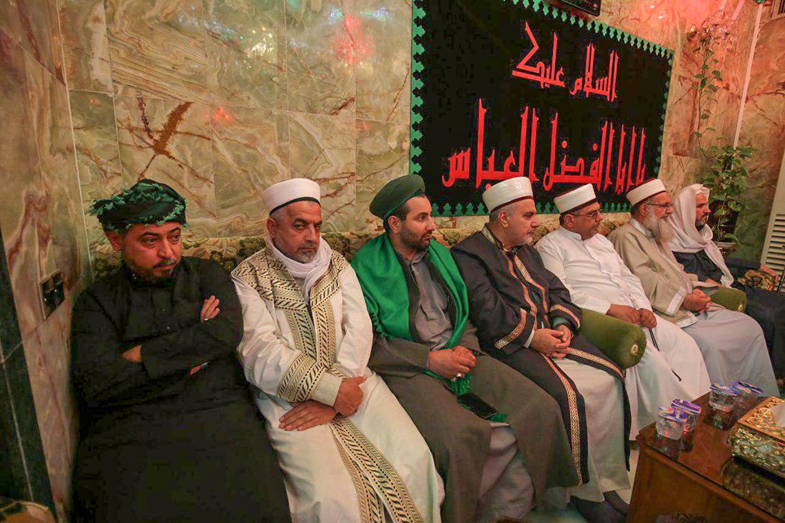 دیدار روحانیون و عشایر شمال عراق با شیخ کربلایی