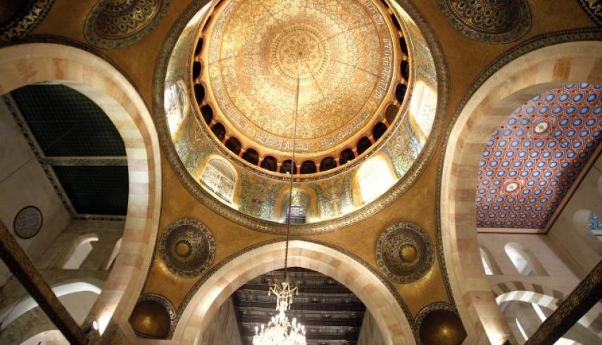 تصاویری از دو مسجد قبةالصخره و مسجد الاقصی در فلسطین