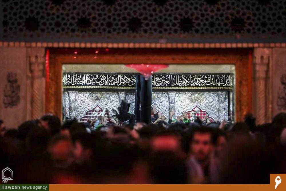 تصاویری از حرم اباعبدالله الحسین(ع) در روز اربعین