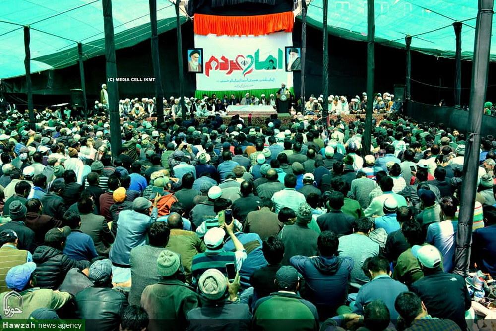 بزرگداشت امام خمینی در کرگل