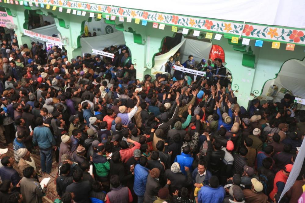 ششمین جشنواره فرهنگی امیرالمؤمنین در شهر کارگل هند