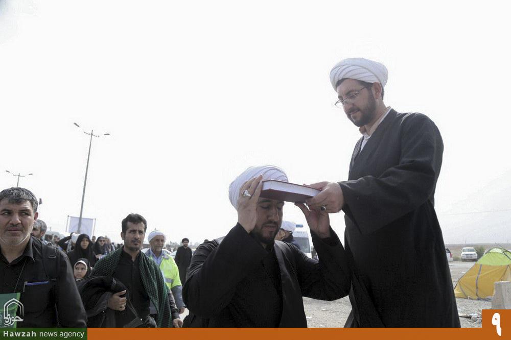 زائران اباعبدالله الحسین(ع) در مرز مهران