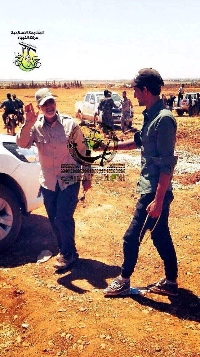 سردار سلیمانی در سوریه