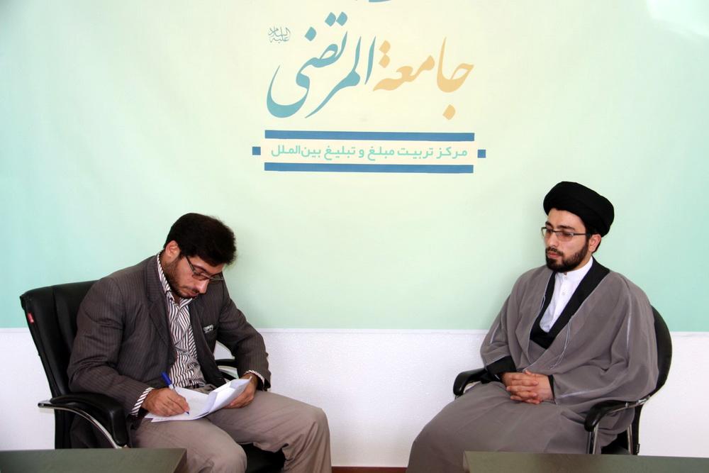 حجت الاسلام حامد حکیمی پور_ گزارشی از ظرفیت حوزه علمیه در تبلیغ توریسم و فضای مجازی
