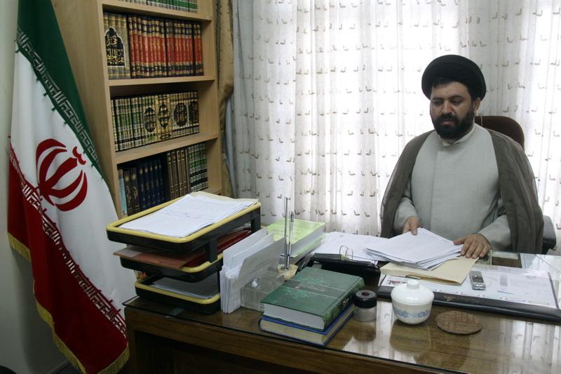 حجت الاسلام سید محمد باقر رضوی معاون مدرسه علمیه فیضیه