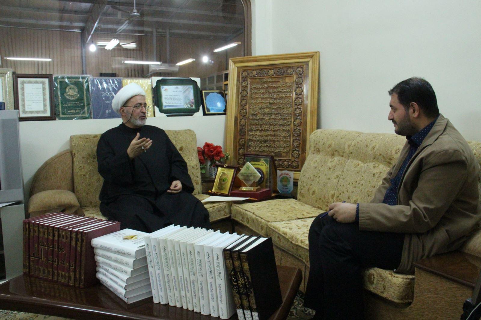 شیخ محمد الحسون در مصاحبه با خبرگزاری حوزه
