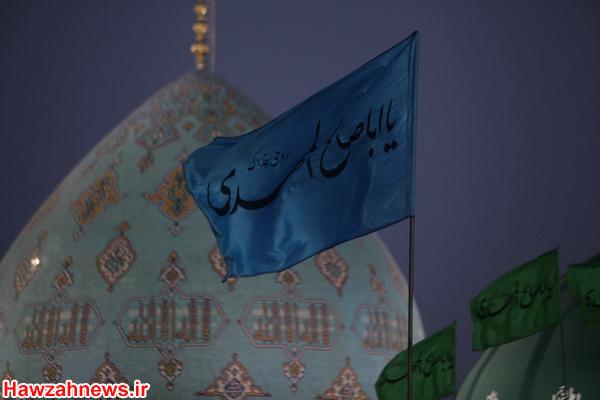 تصاویری از مسجد جمکران در شب میلاد منجی