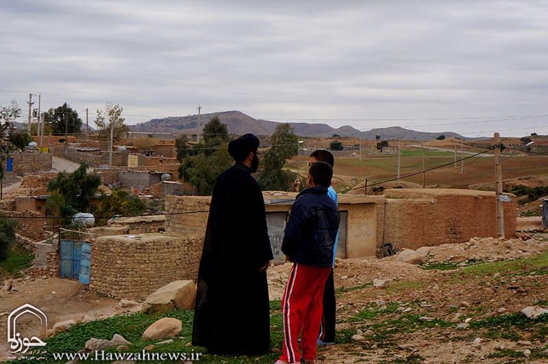 روایت تصویری از فعالیت یک مبلغ در مناطق محروم خوزستان