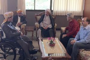 دیدا شیخ محمد حسن با شیخ الاسلام تایلند