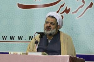 حجت الاسلام جمشیدی حوزه خواهران