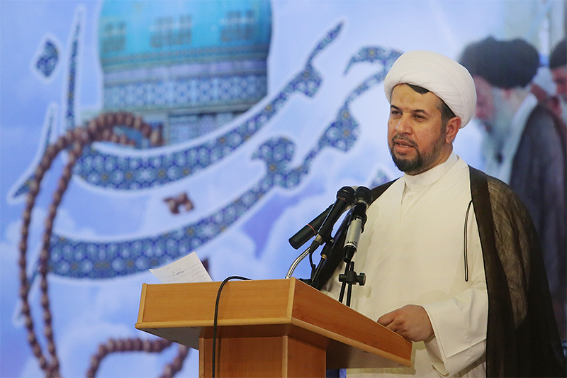 حجت الاسلام محمود محمدزاده رئیس شورای سیاست گذاری ائمه جمعه خوزستان