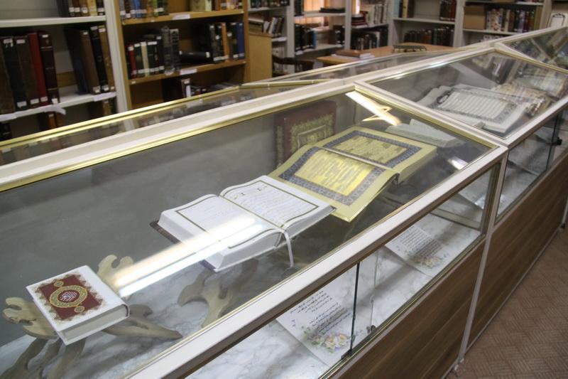 تصاویر کتابخانه آستان حضرت معصومه(س)