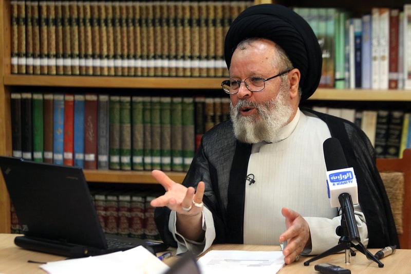 نشست خبری حسینی قزوینی