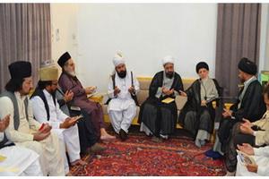 علمای مذاهب مختلف هند در دیدار آیت الله حکیم