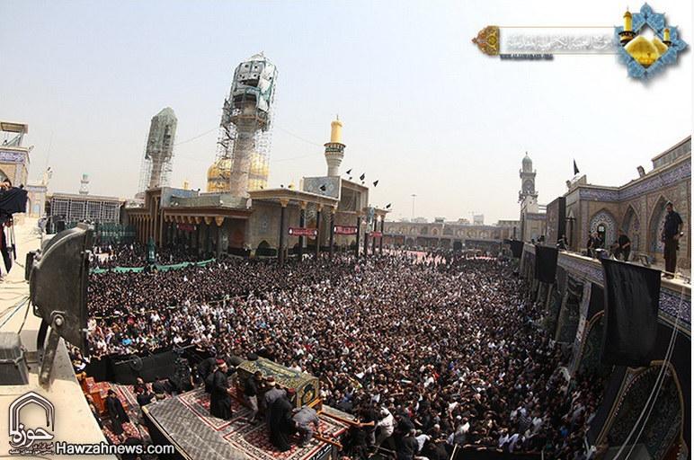 تصاویر/ تشییع جنازه نمادین امام جواد علیه السلام در کاظمین