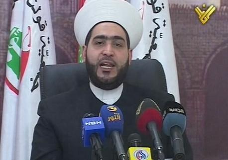 شیخ احمد القطان رئیس جمعیت قولنا والعمل لبنان