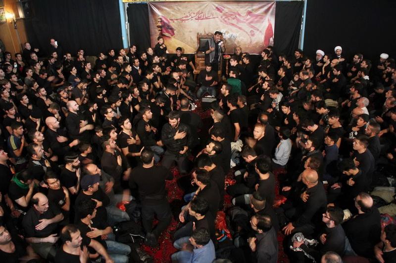 مراسم عزاداری دهه اول محرّم در مسجد امام علی(ع) هامبورگ