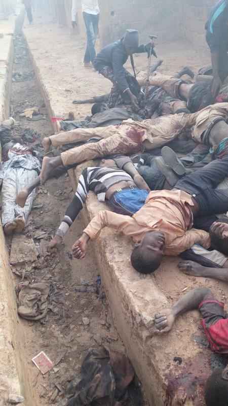 تصاویر دلخراش از حمله به منزل رهبر شیعیان نیجریه