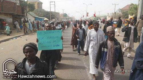 تصاویری از تظاهرات گسترده مردم نیجریه