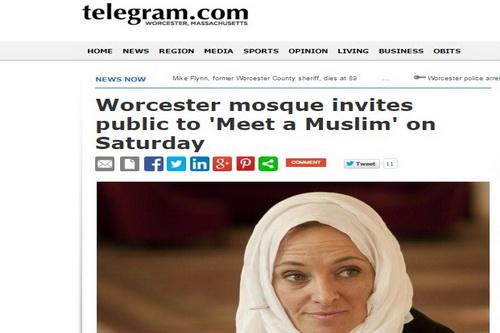 دعوت مسجد ورچستر از مردم /ماجرای مسلمان شدن نوه یک کشیش در آمریکا