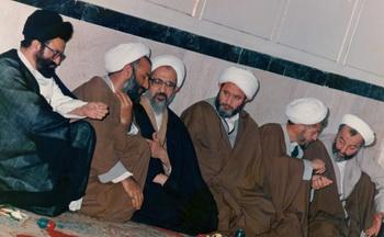 حجت الاسلام و المسلمین حسینی مازندرانی تولیت حوزه و مسجد امام حسین(ع) شهرری