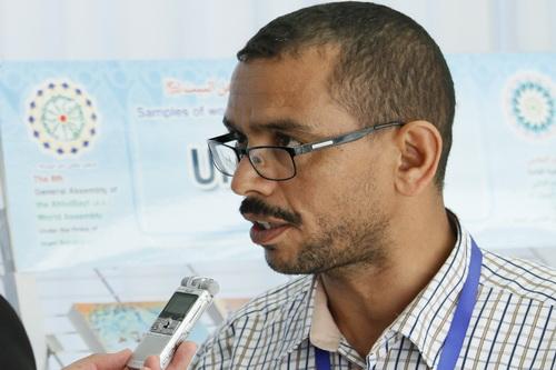صلاح الدین المصری رئیس رابطة التسامح تونس