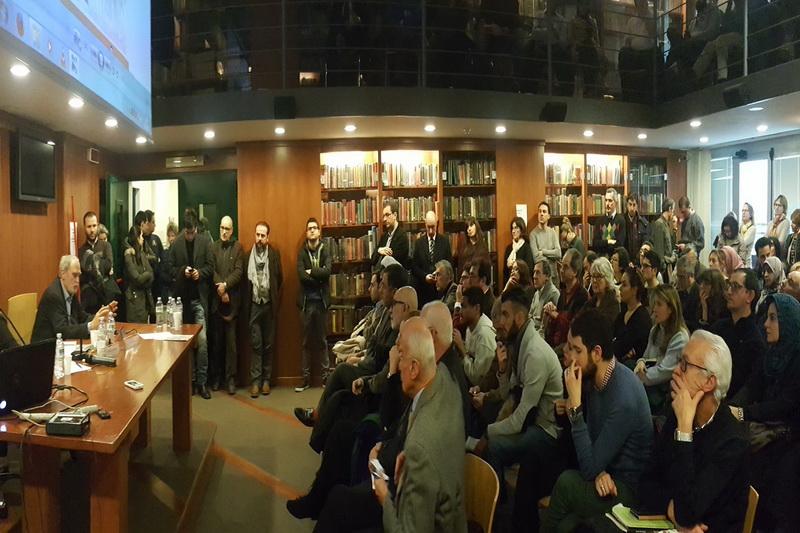 همایش اسلام و نفی خشونت در سالن اجتماعات دانشگاه  لینک کمپوس (Linkcampus ) شهر رم