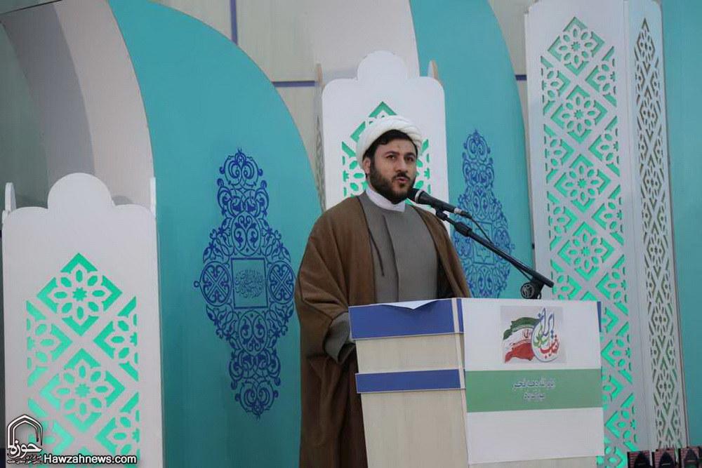 حجت الاسلام قنبری در  آیین نکوداشت خدمات ماندگار آیت الله العظمی صافی