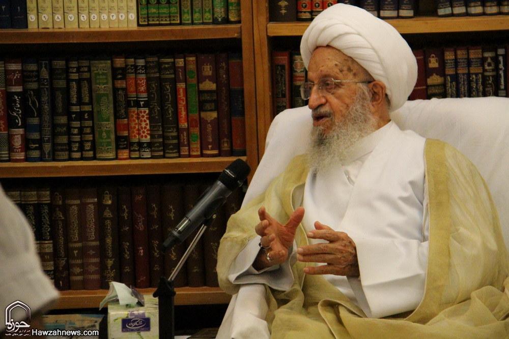تصاویر/ دیدار رئیس شورای پاپی صلح و عدالت واتیکان با آیت الله العظمی مکارم